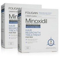 foligain minoxidil hair regrowth treatment